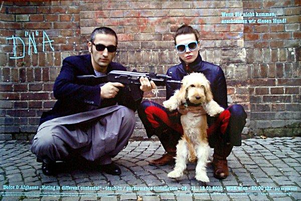 Wenn Sie nicht kommen erschiessen wir diesen Hund