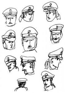 Ansichten von Polizei, Nikkolo Feuermacher 2012