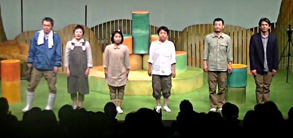 SchauspielerINNEN des Theaters Nakama