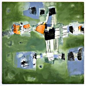 Wegmarken 2 von Dagmar Hintzmann