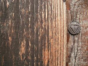 Nagel im Holz