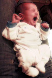 ein Säugling