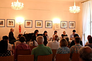 Raumkreuzer Sora - Pfeile auf Fukushima, Lesung in Wien 2016