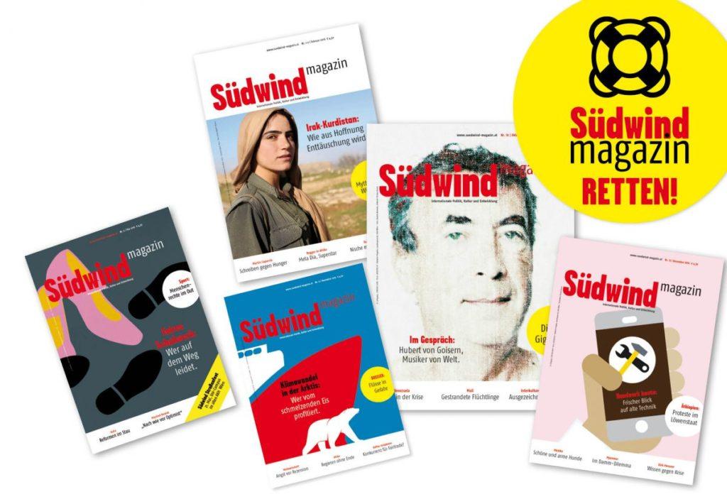 Südwind-Magazin ist in Gefahr, jetzt über Abo retten
