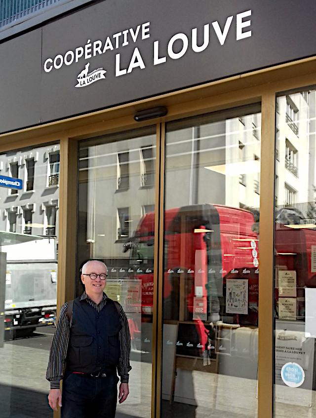 la louve Paris, foto: irmgard kirchner 2019