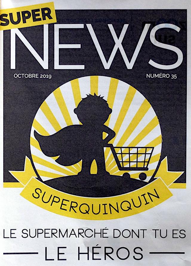 Mitgliederzeitschrift Superquinquin, Lille Frankreich, Foto: Stuff Klier