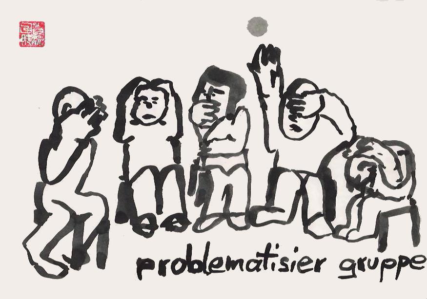 Problematisiergruppe von Nikkolo Feuermacher