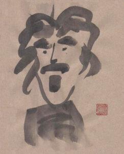 Frank Zappa von Nikkolo Feuermacher